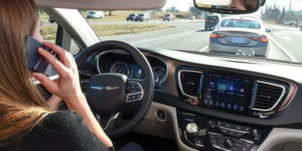 Three in 10 motorists acknowledged that they talked on their phone while driving on a daily...