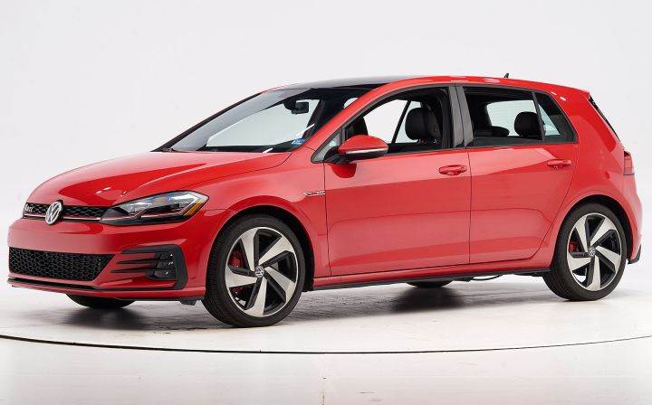 Volkswagen's 2019 GTI has earned a Top Safety Pick from the Insurance Institute of Highway Safety.  - Photo courtesy of IIHS.