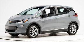 Chevrolet Bolt EV Named Top Safety Pick