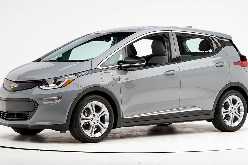 Chevrolet's 2019 Bolt EV has been named a Top Safety Pick by the Insurance Institute for Highway...