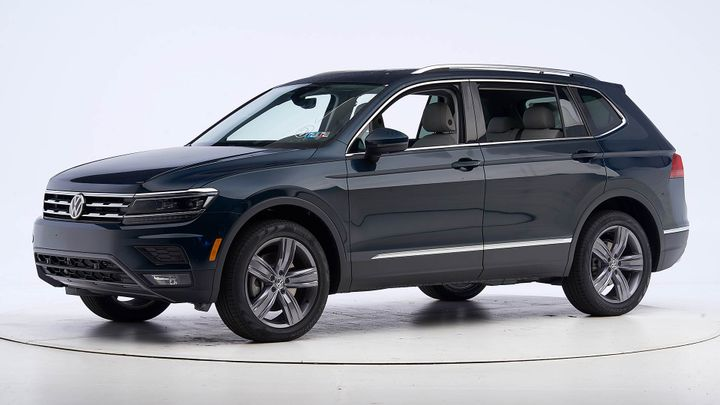 Volkswagen's 2019 Tiguan has earned a Top Safety Pick+ from the Insurance Institute for Highway Safety.