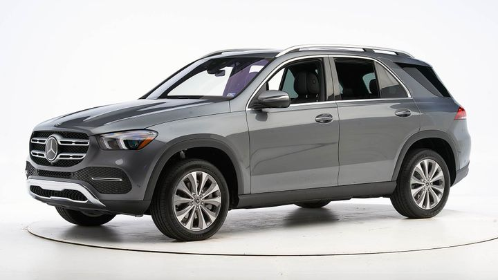The Mercedes-Benz 2020 GLE continues its Top Safety Pick+ designation after a heavy refresh.  - Photo courtesy of IIHS.