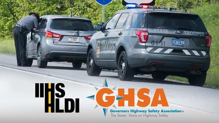 Three leading road safety groups will offer state-level grants to reduce speeding-related crashes.  - Photo courtesy of IIHS.