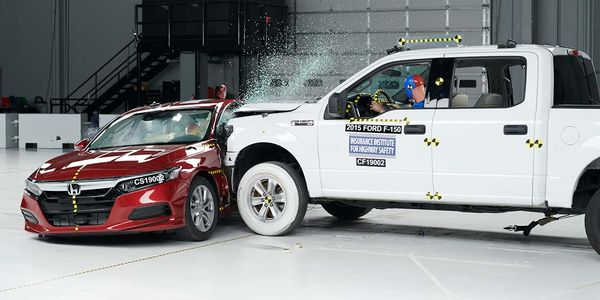 The institute's new side crash test, which will begin in 2020, has been designed to better...