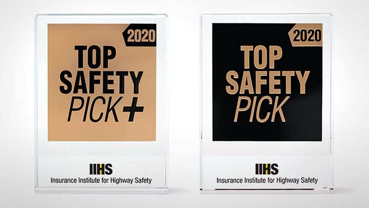 The Insurance Institute for Highway Safety has raised the bar for its Top Safety Pick awards for 2020. - Photo courtesy of IIHS.