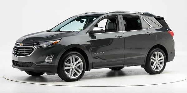 The 2020 Chevrolet Equinox compact SUV has earned a Top Safety Pick in part because of its...
