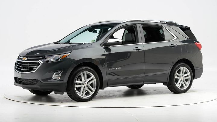 The 2020 Chevrolet Equinox compact SUV has earned a Top Safety Pick in part because of its standard adaptive headlights. - Photo courtesy of IIHS.