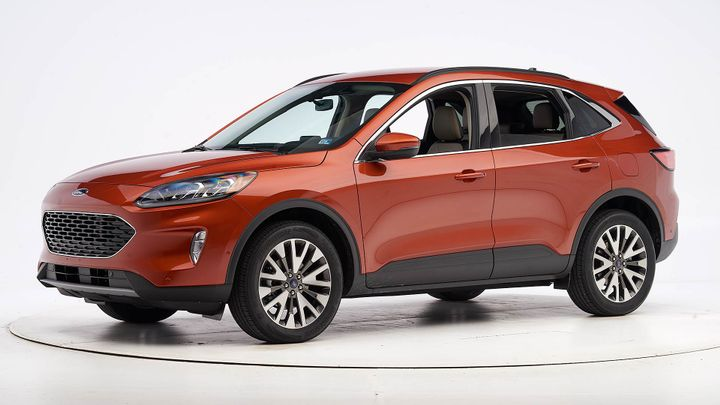 Ford's fourth-generation 2020 Escape has been named a Top Safety Pick. - Photo courtesy of IIHS.