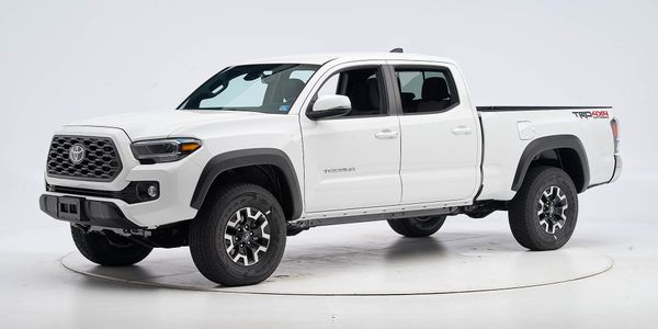 Toyota's 2020 Tacoma Double Cab has earned a Top Safety Pick from the Insurance Institute for...