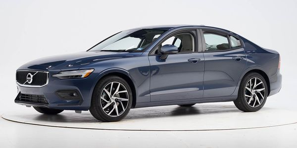 Volvo's 2020 S60 sedan has earnedTop Safety Pick+ status from the Insurance Institute for...