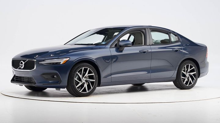 Volvo's 2020 S60 sedan has earnedTop Safety Pick+ status from the Insurance Institute for Highway Safety. - Photo courtesy of IIHS.