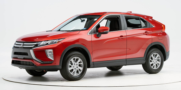 The 2019 Mitsubishi Eclipse Cross has earned a Top Safety Pick from the Insurance Institute for...