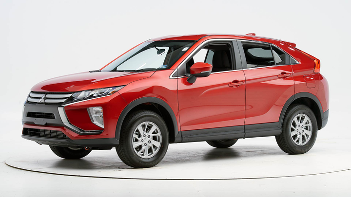 The 2019 Mitsubishi Eclipse Cross has earned a Top Safety Pick from the Insurance Institute for Highway Safety.