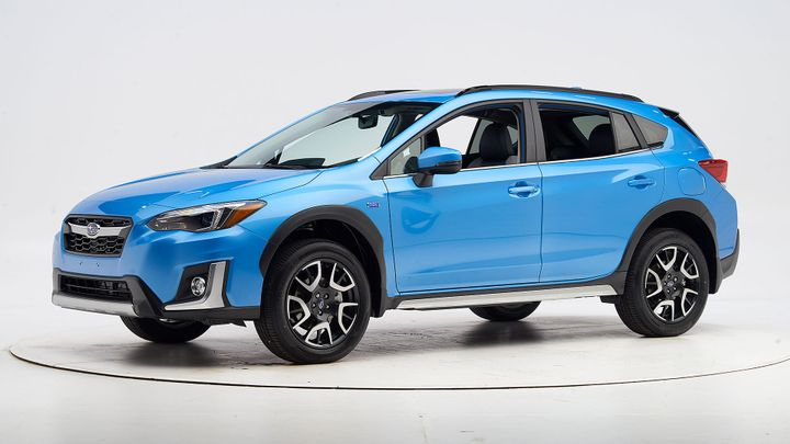 The 2019 Subaru Crosstrek Hybrid has earned a Top Safety Pick+ from the Insurance Institute for Highway Safety.