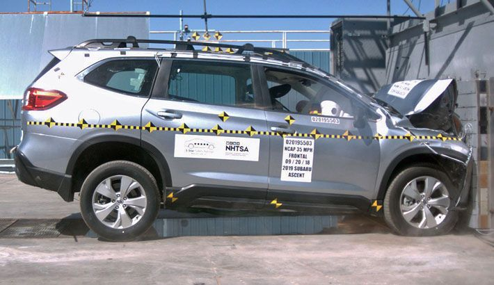 NHTSA will revamp its five-star new-vehicle crash testing program in 2020.
