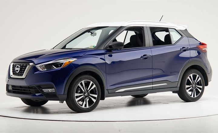 The 2018 Nissan Kicks has been named a Top Safety Pick by the Insurance Institute for Highway Safety.