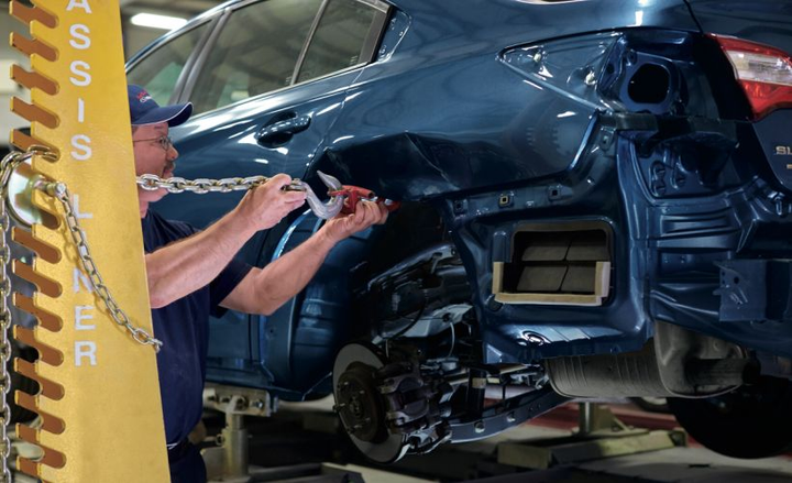 Subaru willopenenrollment into its certified repair network to independent collision centers onJan. 1.  - Photo courtesy of Subaru.