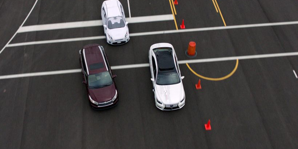 Toyota's Guardian advanced safety system uses self-driving technology to keep cars from crashing.