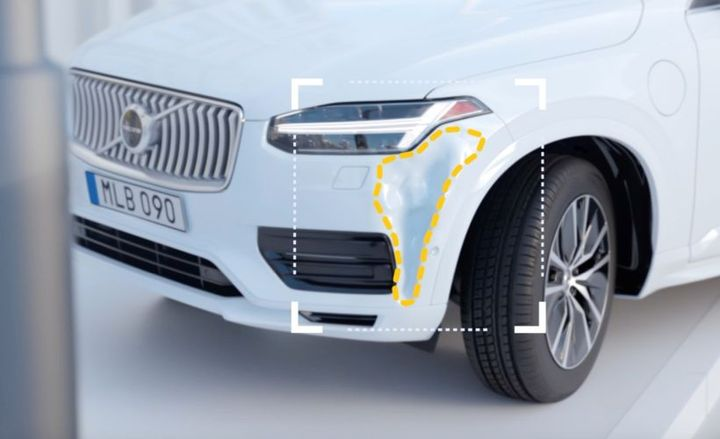 Volvo is now providing post-collision services through its mobile app.  - Photo courtesy of Volvo.