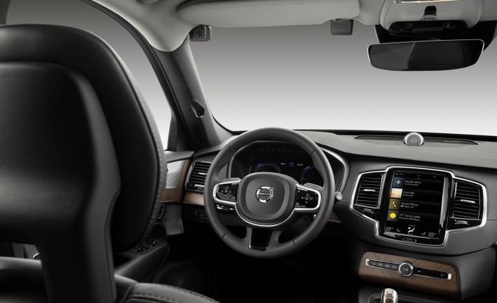 Volvo is planning to add in-vehicle video cameras to its vehicles starting in the early 2020s that could be mounted to the upper left area of the windshield.  - Photo courtesy of Volvo.