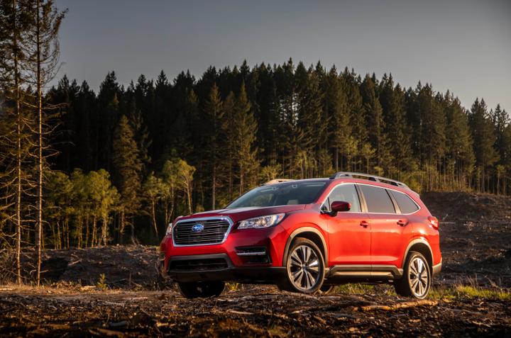 Subaru has begun selling its 2019 Ascent three-row SUV.  - Photo courtesy of Subaru.