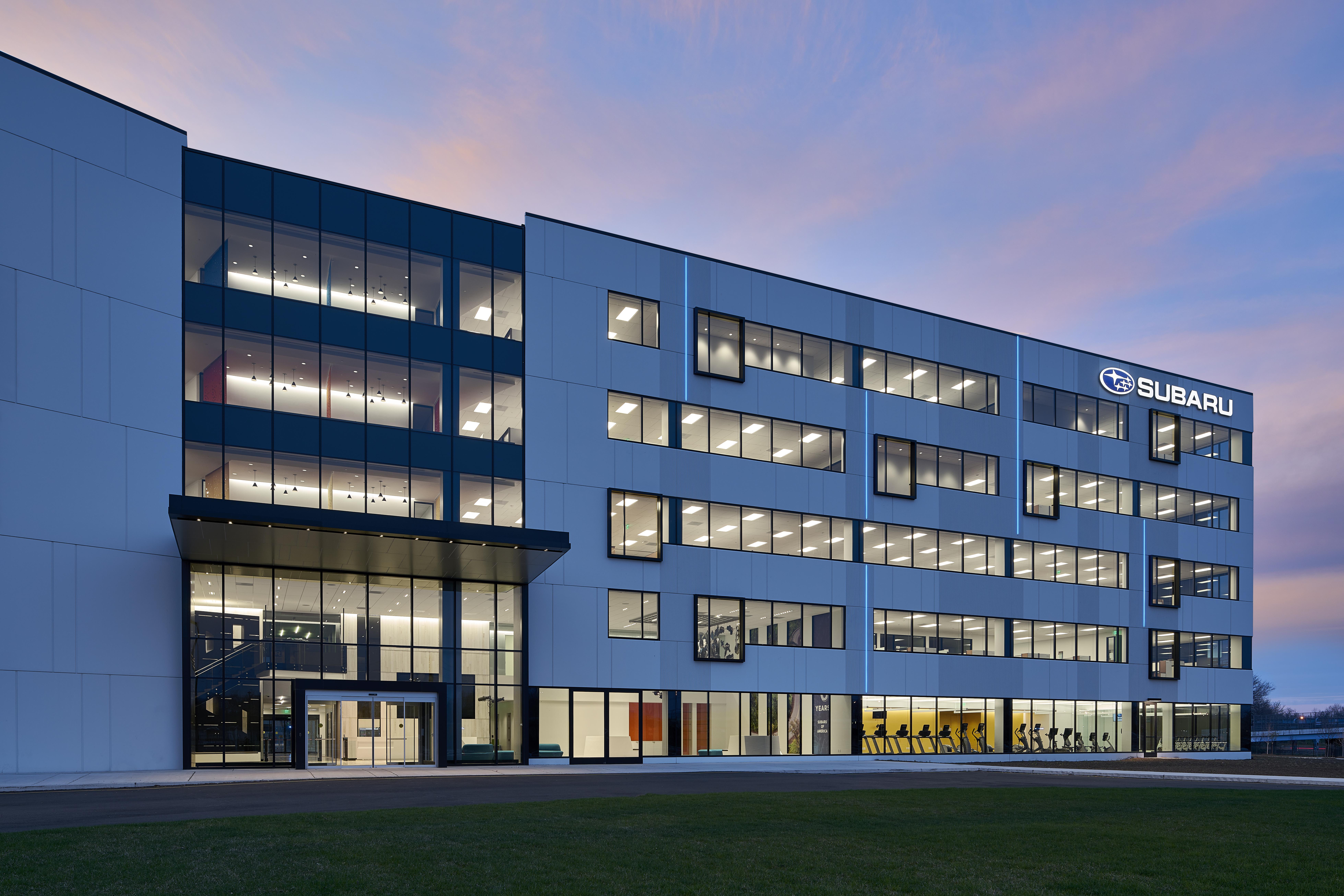 Photo of new Camden, N.J. headquarters courtesy of Subaru.