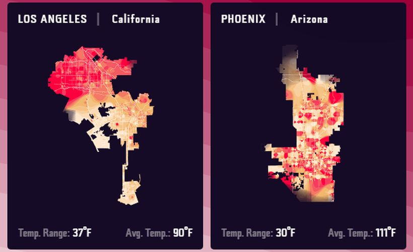 Geotab Analyzes Heat Data From 20 Cities