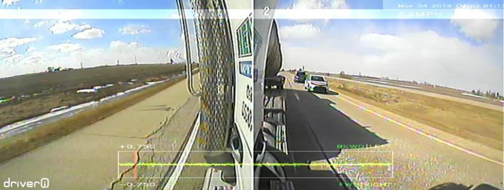 NetraDyne's VisionPRO camera offers eight views so fleet managers can see the side and rear of a truck.