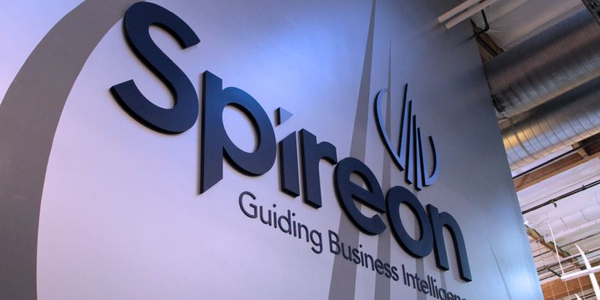 Spireon's non-powered asset business is growing faster than its fleet tracking business aimed at...