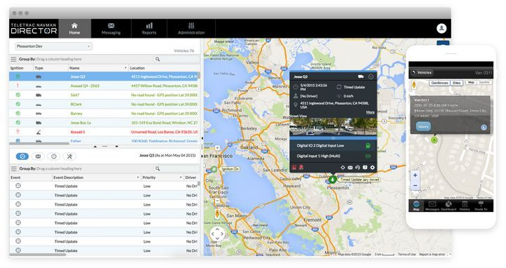 Teletrac Navman's new Build Your Own Report feature helps fleets break down telematics data into specific reports.