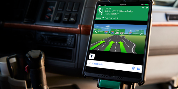 Verizon Connect has introduced a navigation app for commercial drivers.