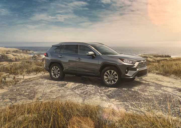 Toyota is offering fleet incentives for 21 of its 2019 vehicles, including the fifth-generation Rav4 compact SUV.  - Photo courtesy of Toyota.