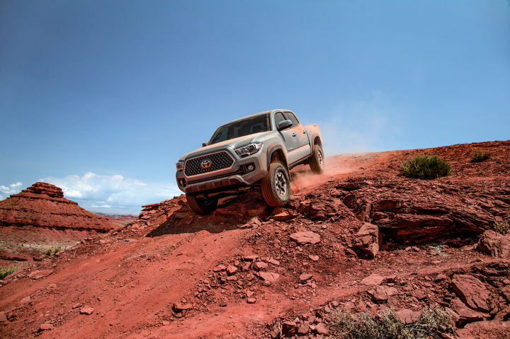 Toyota will begin delivering its 2019 Tacoma (pictured) to commercial fleet customers in October.