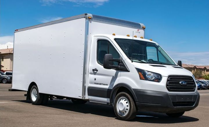 Supreme Corp. is recalling its Spartan service bodies on Ford Transit vans.  - Photo via Peoria Ford Commercial Fleet/YouTube.