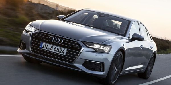 Audi's 2019 A6 enters its eighth generation with an array of new advanced driver assistance...
