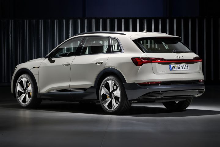 Audi's 2019 E-tron will arrive in the middle of 2019 in a wave of new electric luxury SUVs.  - Photo courtesy of Audi.