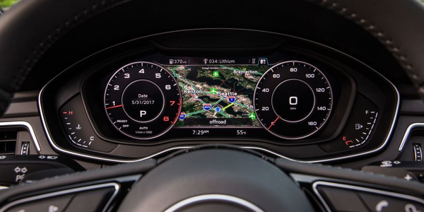 Digital instrumentation such as Audi's Virtual Cockpit (shown on 2018 A5 Sportback) has become...