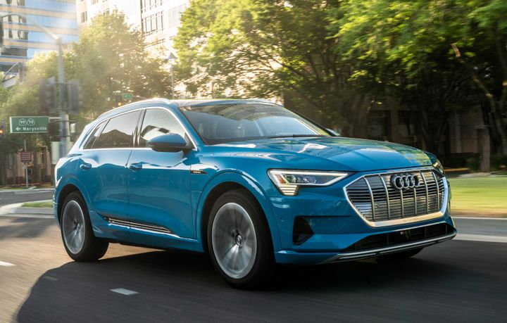 Audi has updated its 2020-MY fleet incentives and added an incentive for its E-tron EV. - Photo courtesy of Audi.