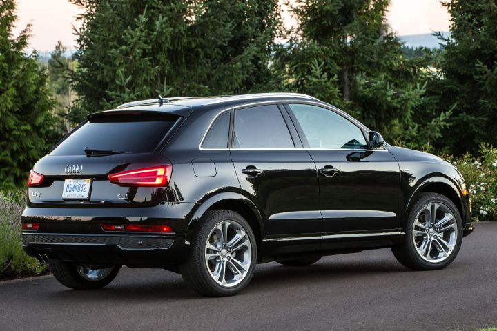 Audi is recalling its 2016 to 2018 Q3 for a possible turn-indicator defect.  - Photo courtesy of Audi.