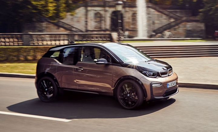 BMW's 2019 i3 will come with an improved battery that adds 39 miles of range.  - Photo courtesy of BMW.