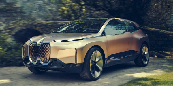 BMW plans to produce its iNext concept vehicle in 2021 as a new flagship vehilce in its i...