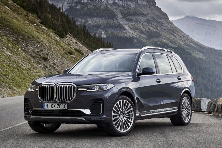 BMW's 2019 X7 arrives in March as the first three-row SUV from BMW.  - Photo courtesy of BMW.