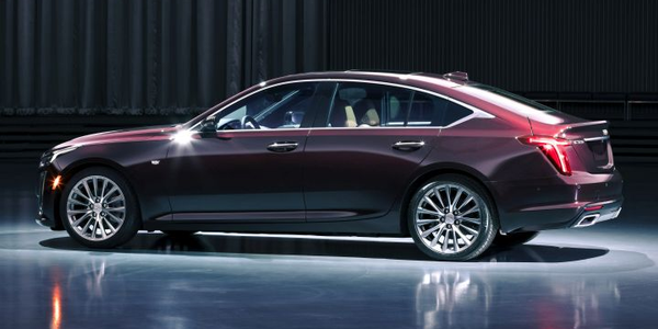 The 2020 Cadillac CT5 is eventually expected to be offered to livery fleets.