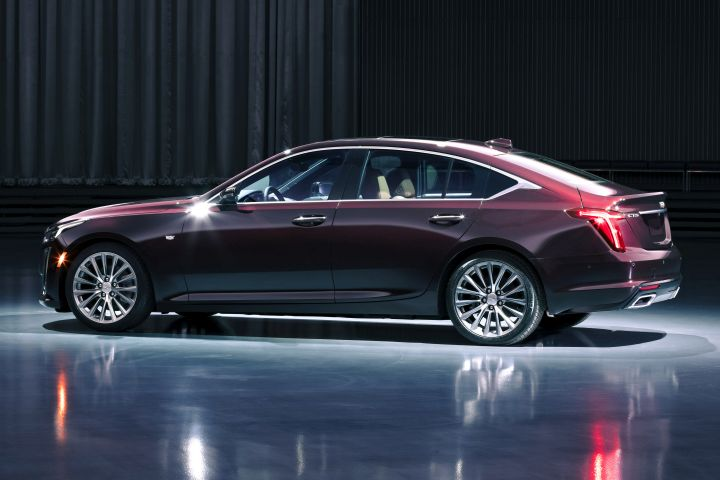 The 2020 Cadillac CT5 is eventually expected to be offered to livery fleets.  - Photo courtesy of GM.