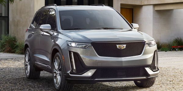 The 2020 Cadillac XT6 (Sport trim shown) is available for ordering with a starting retail price...