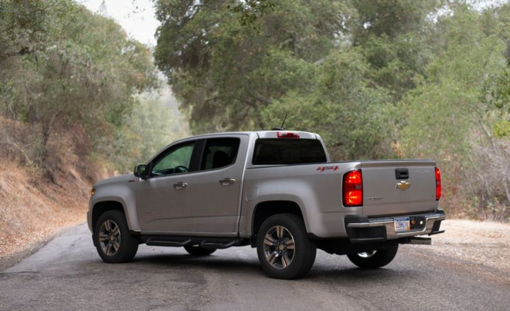 General Motors is committed to featuring diesel engine options in an array of vehicles, including the Chevrolet Colorado midsize pickup (shown).  - Photo courtesy of GM.