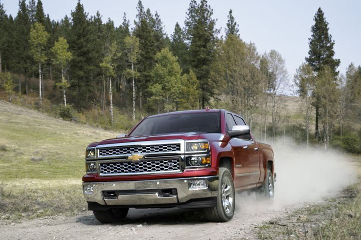 GM is recalling more than 1 million of its 2015 large pickups and SUVs, including the Chevrolet Silverado 1500 (shown), for a steering defect.
