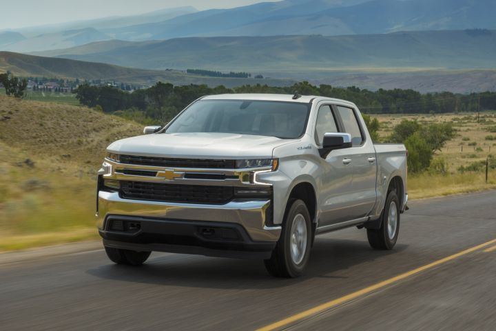 General Motors is offering fleet options with its 2019 Chevrolet Silverado and GMC Sierra on the Work Truck and LT (shown) trims.  - Photo courtesy of G.M.