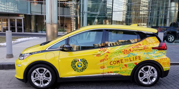 The Yerba Mate Co. has been an early adopter of the Chevrolet Bolt EV Cargo vehicle.