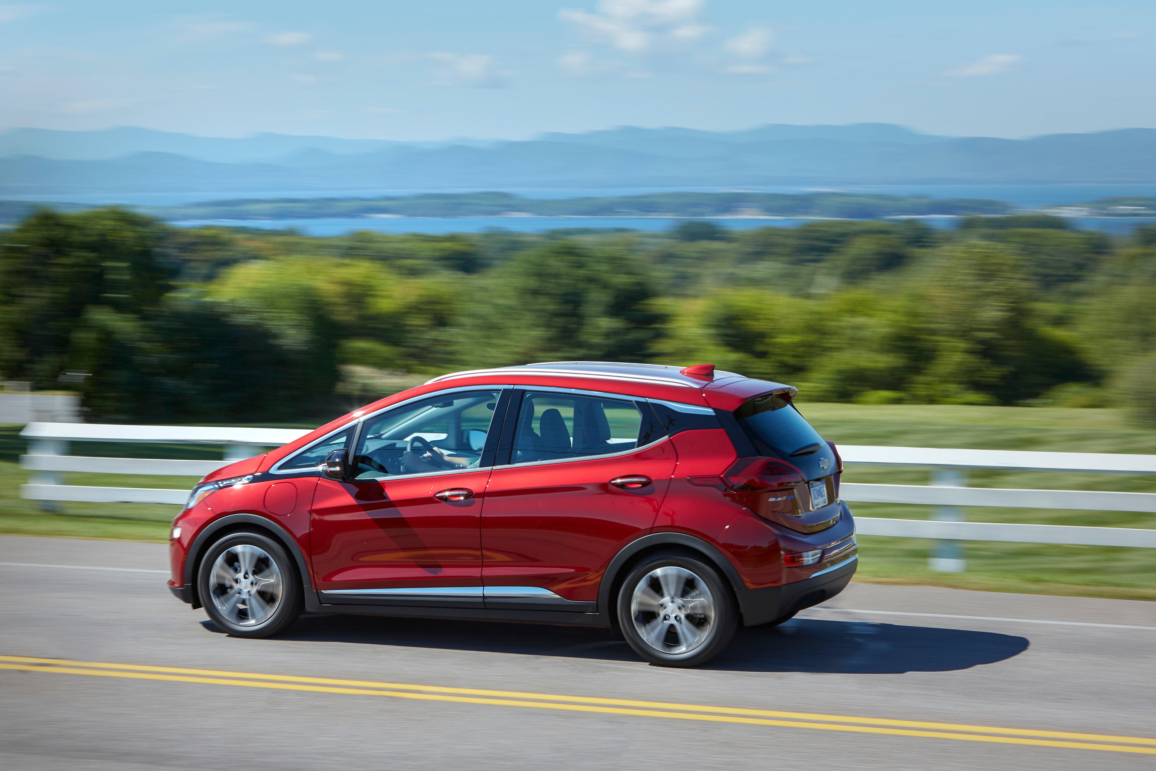 Chevrolet Bolt EV Adds 9% More Range